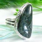 Pretty natural ocean Jasper silver 925 ring size 10 ! Gift Jewelry & Love
