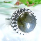 Special natural Labradorite silver 925 ring size 6 1/2 ! Gift Jewelry & Love