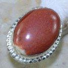 Elegant Fashion retro design Jasper silver ring size 5 ! Gift Jewelry & Love