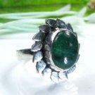 Beautiful fashion green Aventurine silver 925 ring ! Gift Jewelry and Love