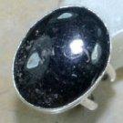 Fashion natural turritella agate stone silver ring size 5 ! Gift Jewelry & Love