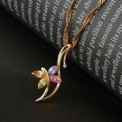 Fine Fashion jewelry 18k gold plated Camel The desert ship Pendant and Necklace