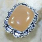 Fashion special natural Chalcedony silver ring size 9 ! Gift Jewelry & Love