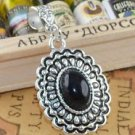 Fashion Tibet silver set Turquoise pendant + necklace ! Gift Jewelry & Love