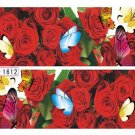 Flower Decal Water Transfer Women Manicure Nail Art Stickers DIY Decoration HH44