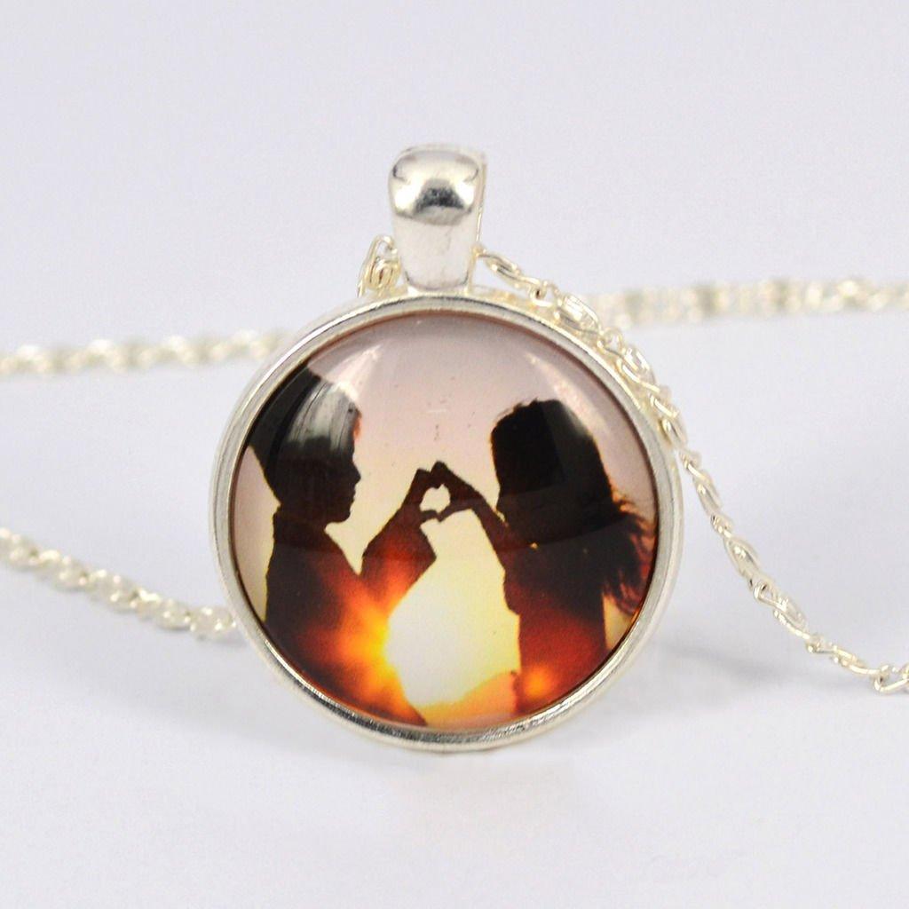 Fashion Vintage Retro Watch-Face Cabochon Glass Pendant Chain Necklace Gift AU
