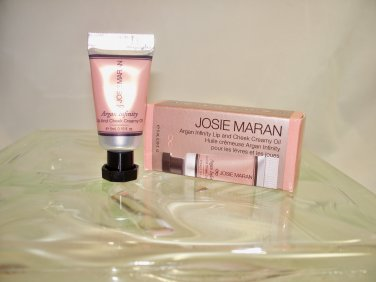 Josie Maran Argan Infinity Lip & Cheek Creamy Oil  Everlasting Honey travel size