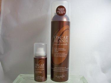 Oscar Blandi Duo Pronto Dry Shampoo Spray Duo 5 oz Full sz plus .75 oz travel sz