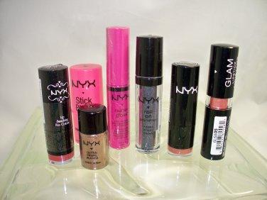 Nyx 7 piece set for lips, eyes & cheeks