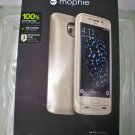 Mophie Gold Juice pack Case for Samsung Galaxy S6 edge