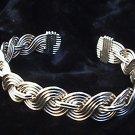 Braided Multistrand Bracelet ( Shown in Nickle Silver )