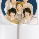 ARASHI - Mini Uchiwa - Beautiful World Tour 2011-12 - Group
