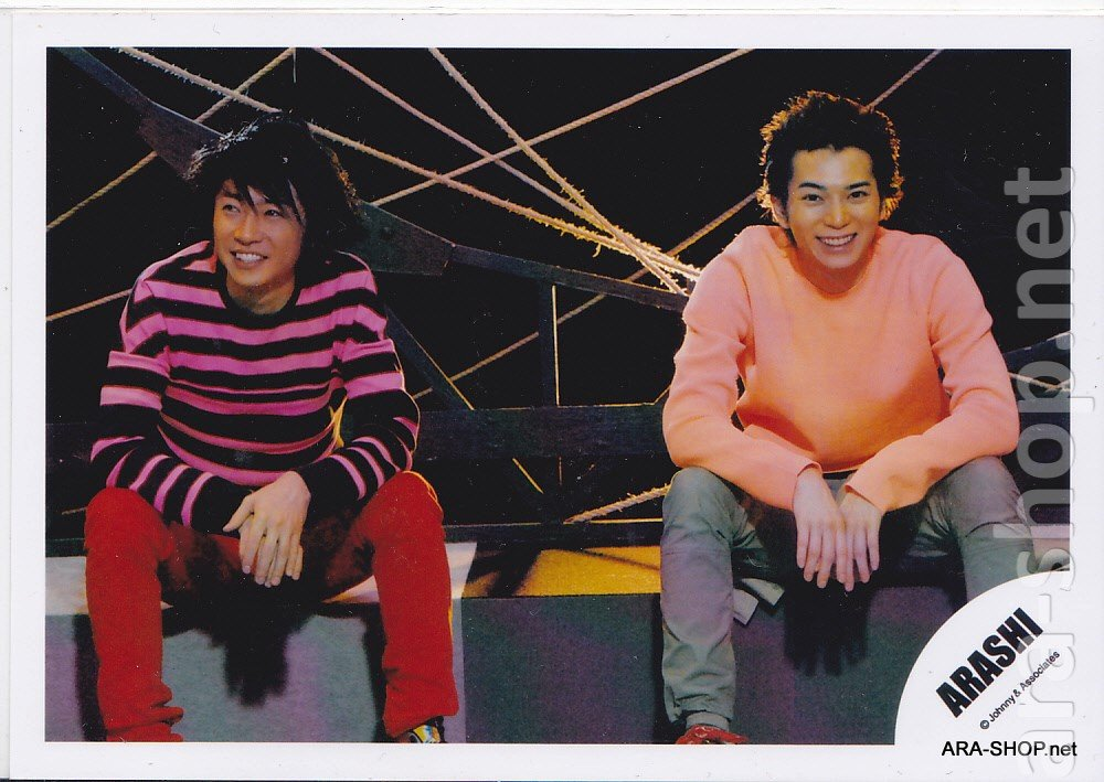 ARASHI - AIBA & JUN - Johnny's Shop Photo #003