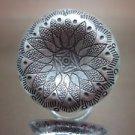 Hill tribe silver Rings thai karen handmade Kuchi center bump and engrave R54
