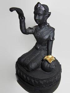 Thai amulets statue buddha lucky lady nangkwak lek nam phi devine household