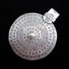 Fashion Silver Pendants Tribal Gothic Shields Emblems Anhänger kolye قلادة P28
