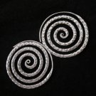 Fine Fashion Earrings Thai Hill tribe Tribal BOHO Spirale Ohrringe Schmuck E129
