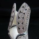 Fashion Silver Rings Thai Hill Tribe Fine Gothic Anello Gümüş yüzükler خواتم R65