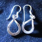 Fine Fashion Earrings Thai Silver Hill Tribe Karen Horseshoe Shape jewelry Cute