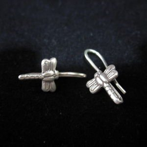 Ohrringe Pendientes de plata Libelle Fine Fashion Silver Earrings Dragonfly E135