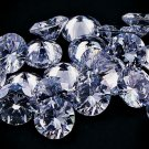 Round 1mm - 2.5mm White Cubic Zirconia Stone Korean Star Grade CZ Wholesale Lot