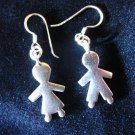 Fine Silver Earrings Hill Tribe Lover Wedding Theme Valentines Gift
