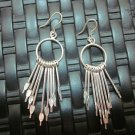 Thai Hill Tribe Earrings Fine Silver Genuine Chandelier Wedding women
