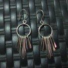 Fine Silver Earrings Hill tribe Karen Tribal Ohrringe Fashion Drop Dangle CS1123