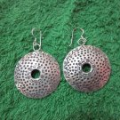 Thai Hill Tribe Earrings Fine Silver Fashions Dangle Round Poka dots CS61259111