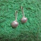 Thai Hill Tribe Earrings Fine Silver Fashions Dangle Sea Shell 3pairs CS8125944