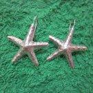 Fine Silver Earrings Hill Tribe Karen Fashions Dangle sea stars-fish CS712591133