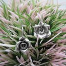 Thai Hill Tribe Earrings Pure Fine Silver Ethnic Flower Bridal Friend Party R531