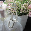 Thai Hill Tribe Earrings Pure Fine Silver Ethnic Snake Cobra Hooks Dangle R530