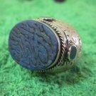 Islamic Rings 925 Sterling Silver Handmade Lapis mens Prophet engraved 44603