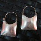 Thai Hill Tribe Earrings Pure Fine Silver argento orecchini oorbellen Purse Bag