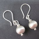 Handcraft Earrings Fine Pure Silver Hill tribe Dangle Tribal Balls cute gift