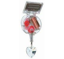 Heart Solar Powered Crystal Rainbow Maker-Sun Catcher