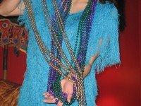 12 Official Throw Mardi Gras Beads