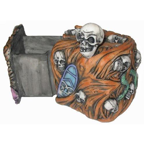 Skull Secret Lock Box-Jewelry Box