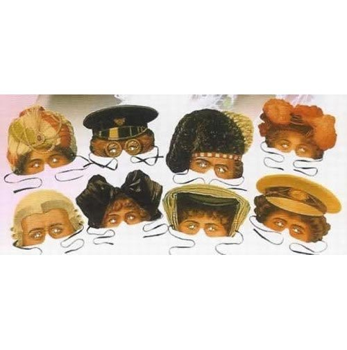 Victoria & Albert Collection of 8 Costume Party Masks