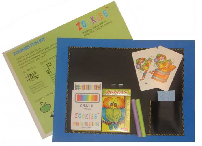 ChalkBoard Placemat Restaurant Fun Kit