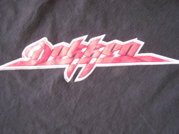 Dokken 2002 World Tour T-Shirt Sz. Large