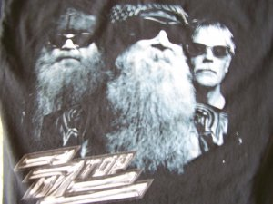 ZZ Top Summer Tour 2004 T-Shirt Sz. Medium