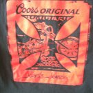 Coors Original Jesse James West Coast Choppers Pay Up Sucker! T-Shirt Sz. Lg
