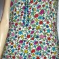 RARE Vintage 80s BETSEY JOHNSON Bold Floral Print DESIGNER Mini Dress L