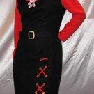 ATOMIC SPACE AGE MOD Belted Jumper Dress Vintage 60's M.