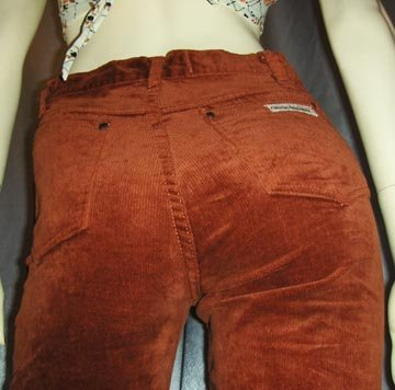 RARE Vintage 70's GLORIA VANDERBILT Designer Jeans XS