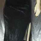 Vintage 90s GLITTER GLAM Sexiest Shimmer PENCIL SKIRT
