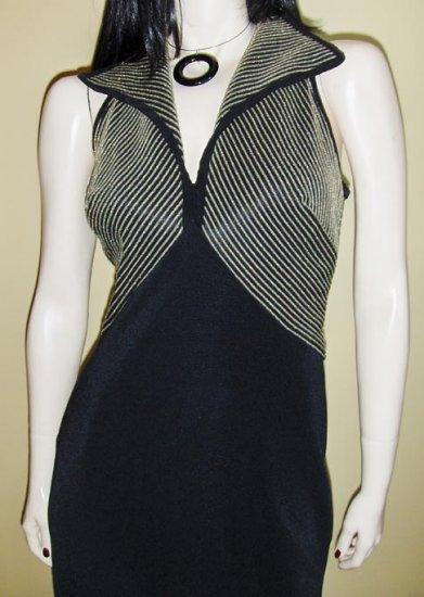 Vintage 90s SUSAN ROSELLI for Vijack Formfit Lurex Glitter Bodice Vixenella Dress Sz. 8