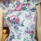 Retro 80s Style Floral Party Mini Dress 13/14
